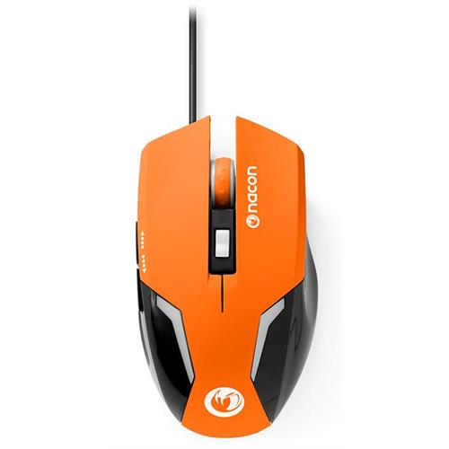 nacon-mouse-ottico-105-arancione-pc