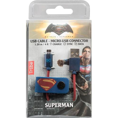 tribe-cavo-micro-usb-1-2m-dc-superman