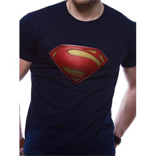 t-shirt-dc-comics-superman-uomo-blu-l