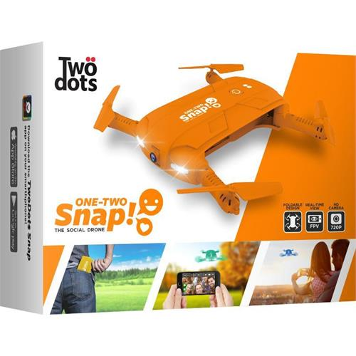 two-dots-snap-the-social-drone-arancione