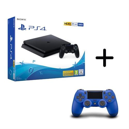 sony-playstation-4-ps4-500gb-new-chassis-f-cuh-2216a-controller-dualshock-blu