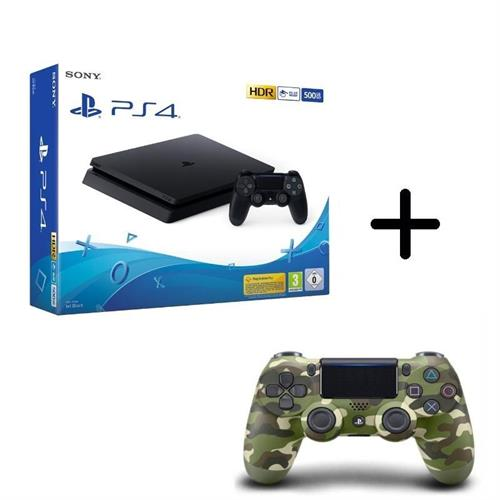 sony-playstation-4-ps4-500gb-new-chassis-f-cuh-2216a-controller-dualshock-camo