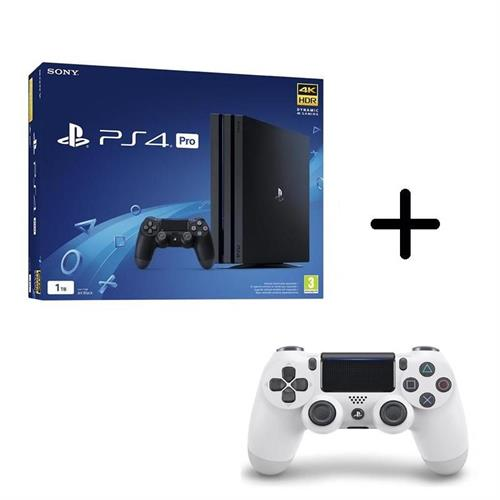 ps4-playstation-4-pro-gamma-1tb-black-controller-dualshock-4-v2-white