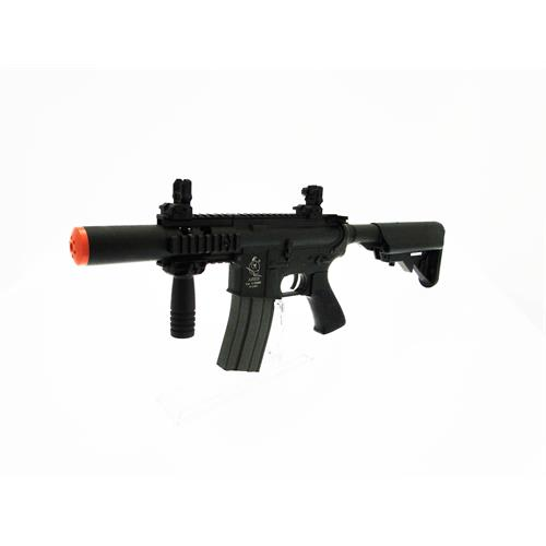 fucile-elettrico-m4-stubby-killer-tactical-cqb-ares-full-pack