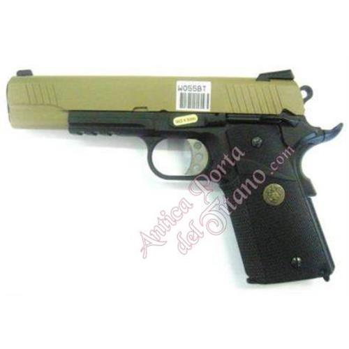 pistola-gas-1911-meu-usa-nero-tan-scarrellante-full-metal-we