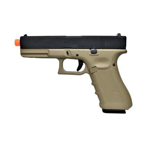 pistola-gas-g17-tan-tactical-scarrellante-full-metal-we