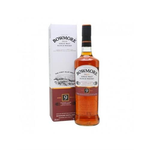 bowmore-9-anni-sherry-cask-matured
