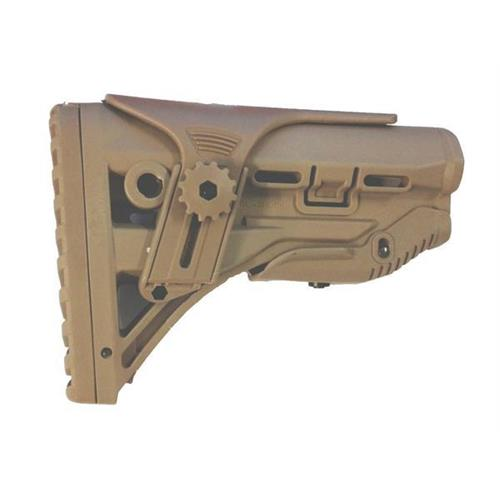 v-storm-calcio-telescopico-tactical-defence-per-serie-m4-tan