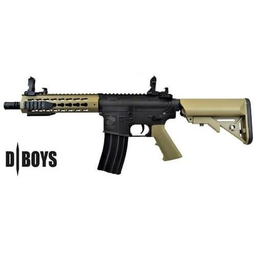 d-boys-m4-cqb-ris-keymod-black-tan