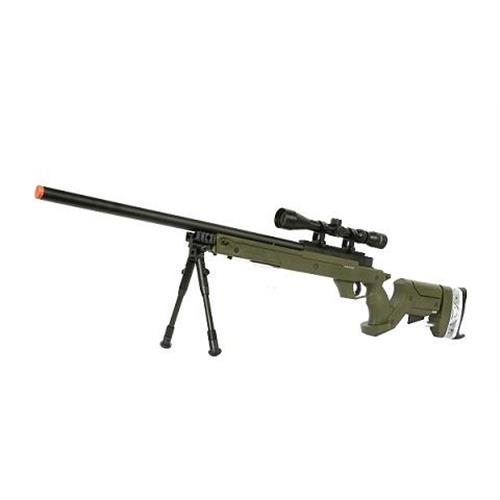 well-fireball-tactical-r96-verde-a-molla-con-ottica-3-9x40
