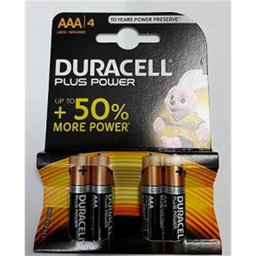 batterie-duracell-mini-stilo-aaa-plus-power-alkaline-conf-4pz