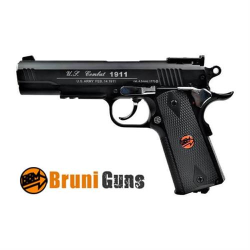 pistola-bruni-1911us-combat-tactical-black-full-metal-cal-4-5mm
