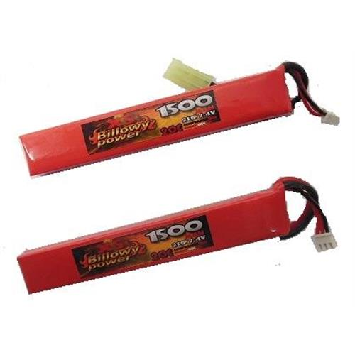 billowy-power-2pz-batteria-lipo-1500mah-7-4v-20c-power-life