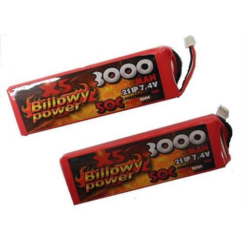 billowy-power-2pz-batteria-lipo-3000mah-7-4v-50c-power-life