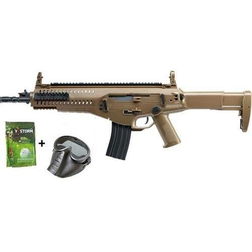 beretta-arx-160-tan-top-fire-vs-pack-con-pallini-e-maschera