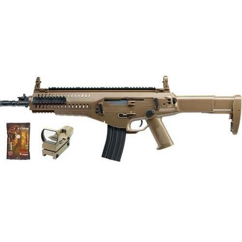 beretta-arx-160-tan-top-fire-vs-pack-con-pallini-e-red-dot