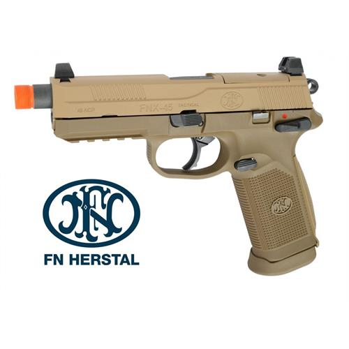fn-herstal-fnx-45-tactical-tan-carel-metal-scarrellante