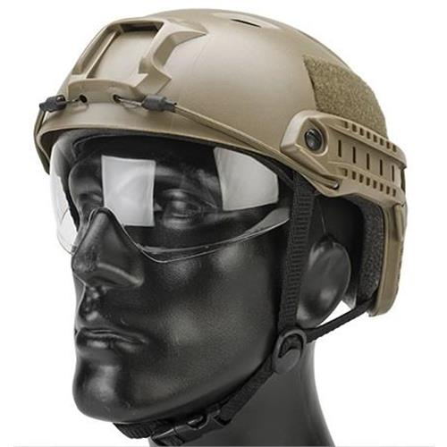 emerson-casco-tattico-fast-bj-tan-con-visiera