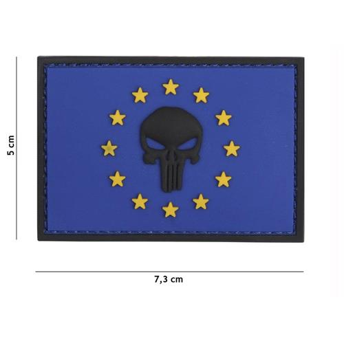 v-storm-patch-3d-in-pvc-con-velcro-europa-blu-punisher