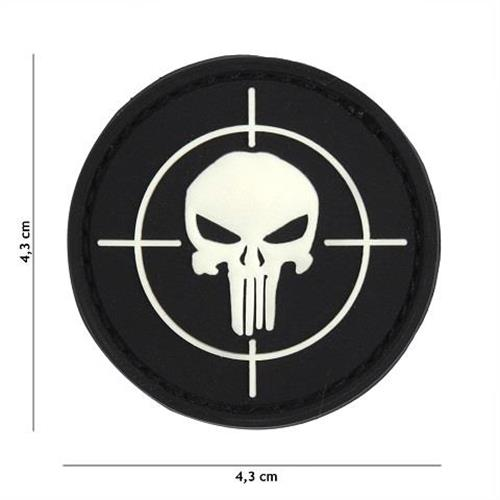 v-storm-patch-3d-in-pvc-con-velcro-punisher-bersaglio-nero