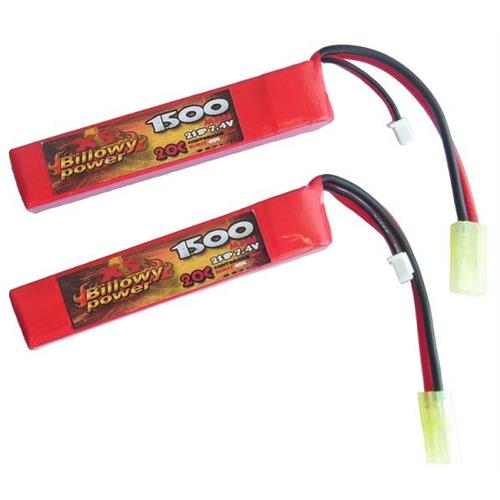 billowy-power-2pz-batteria-lipo-1500mah-7-4v-20c-compact-power-life
