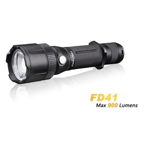 torcia-led-fenix-fd41-xp-l-hi-900-lumen-con-zoom-new-version