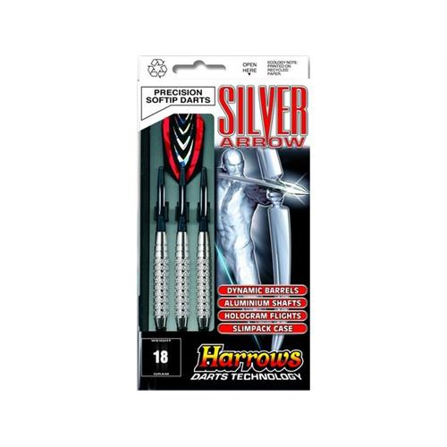 harrows-set-3-dardi-silver-arrow-chromed-brass-per-bersaglio-elettronico