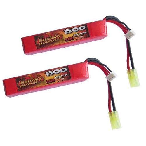 billowy-power-2pz-batteria-lipo-compact-stick-1500mah-11-1v-20c