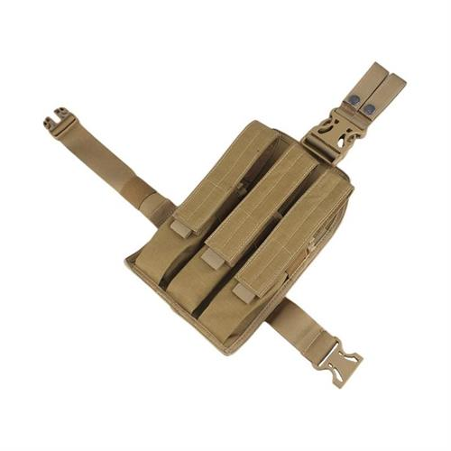 porta-caricatori-cosciale-triplo-per-mp7-coyote-brown
