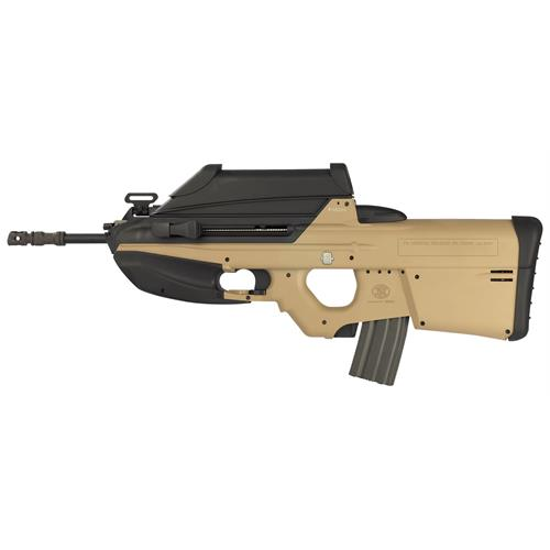 fn-f2000-tan-with-integrated-3-5x-optic