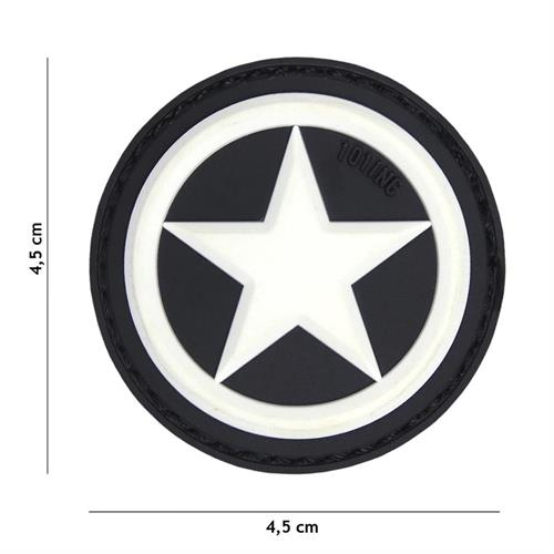 patch-3d-in-pvc-con-velcro-usa-star-bianca