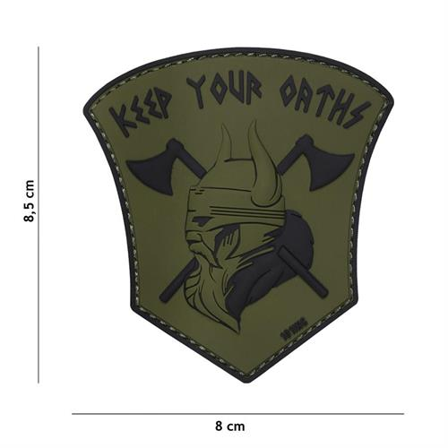 patch-3d-in-pvc-con-velcro-keep-your-oats-verde