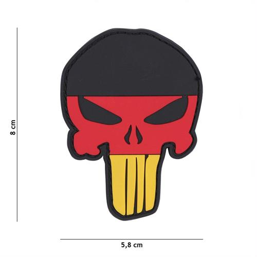 patch-3d-in-pvc-con-velcro-punisher-germania
