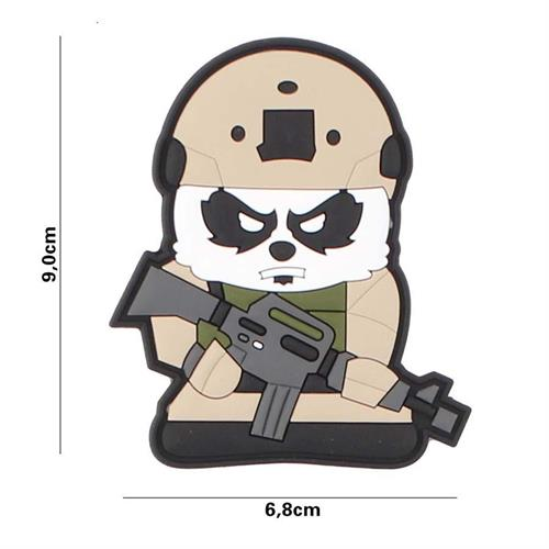 patch-3d-in-pvc-con-velcro-tactical-panda