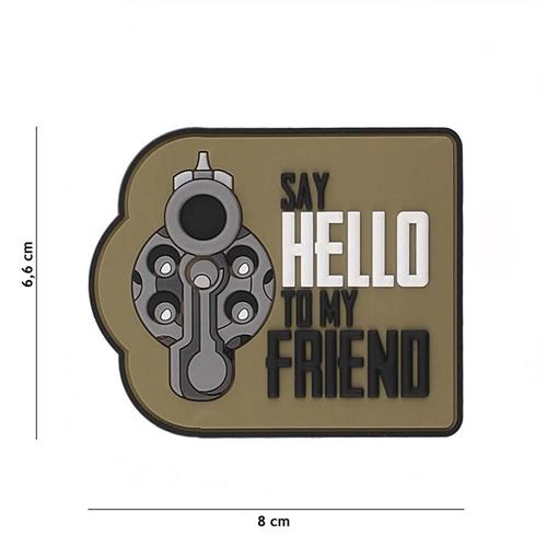 patch-3d-in-pvc-con-velcro-say-hello-to-my-friend