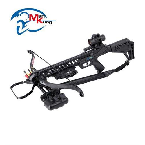 man-kung-recurve-crossbow-hound-175-lbs-black-with-red-dot