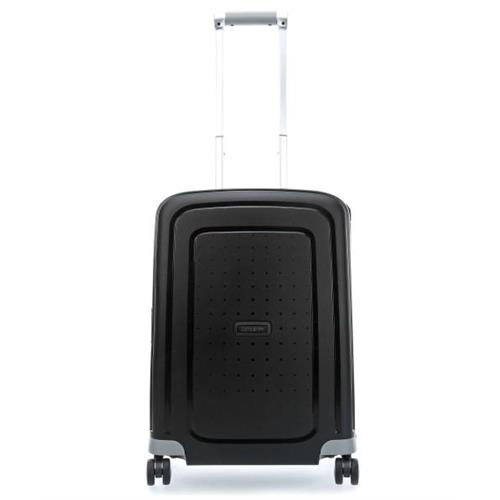 samsonite-suitcase-rigid-hand-luggage-s-cure-4-wheels-spinner-55-s-black