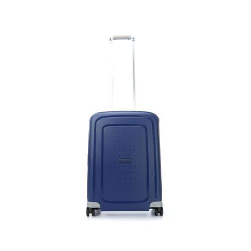 samsonite-suitcase-rigid-hand-luggage-s-cure-4-wheels-spinner-55-s-dark-blue
