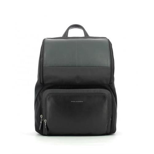backpack-piquadro-notebook-14-line-michael-ca4104w85-n-leather-and-fabric-black