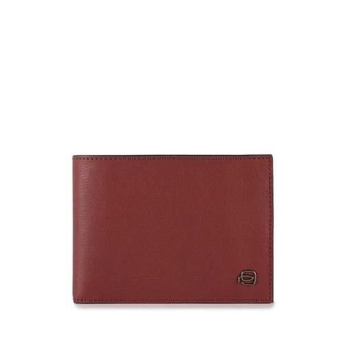 wallet-piquadro-with-coin-pouch-black-square-line-pu257b3r-r-red-leather