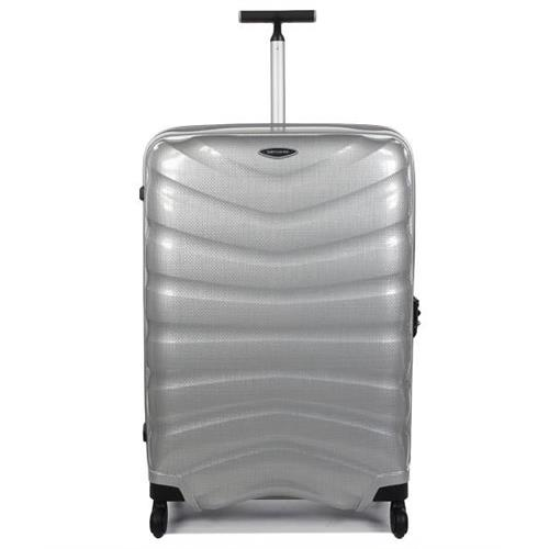 samsonite-suitcase-superlight-firelite-spinner-81-30-silver-rigid-trolley