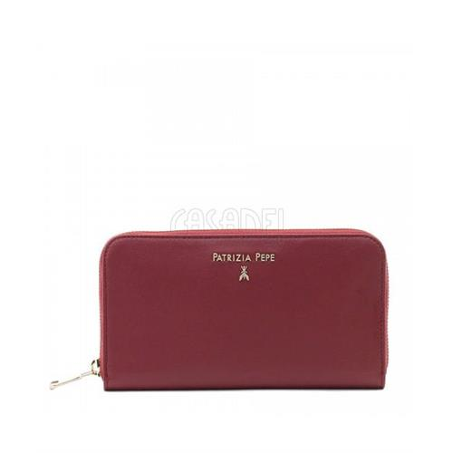 wallet-leather-purse-zip-around-patrizia-pepe-2v4879-r616-ruby