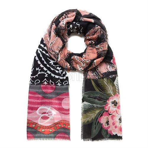pashmina-desigual-19wawa46-2000-retro-patch-rosa-multi