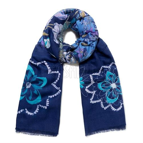 pashmina-desigual-19wawa45-5074-flower-patch-blu-multi