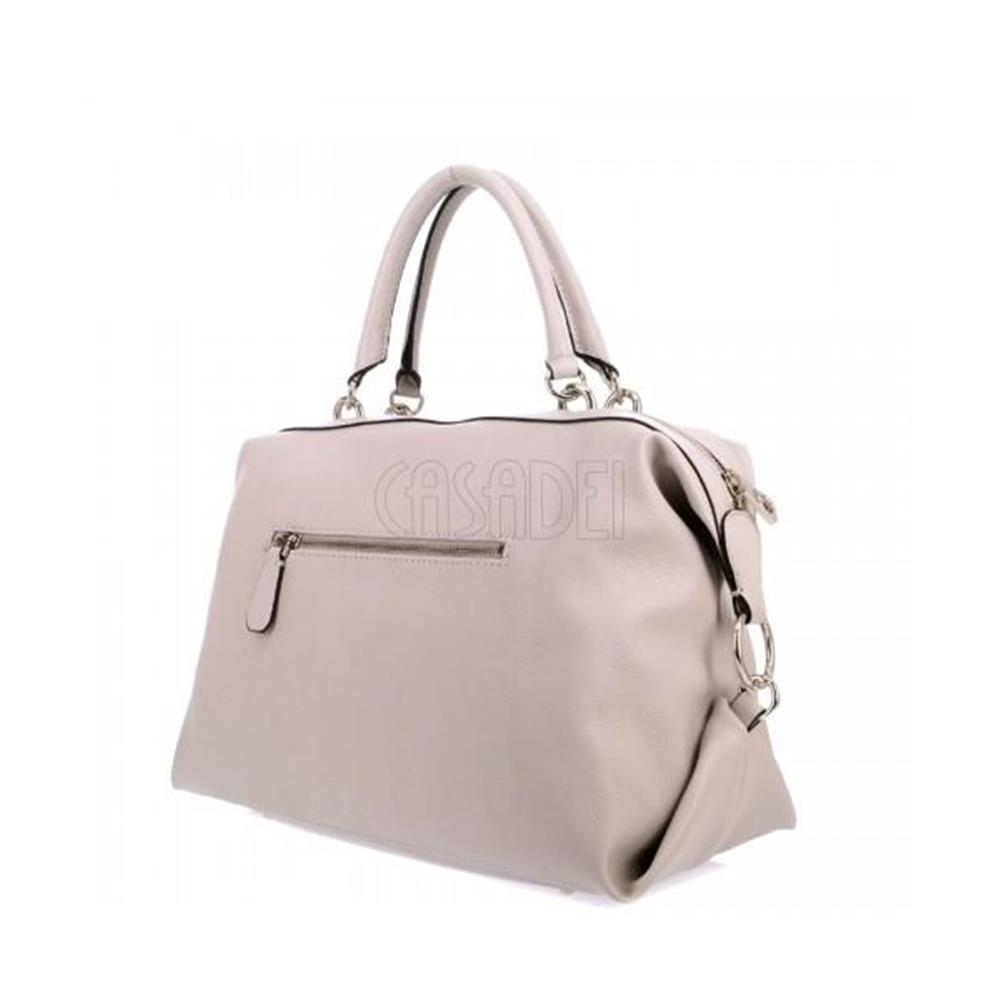 Handbag with Shoulder Strap Guess Line Cary VG729007 Stone