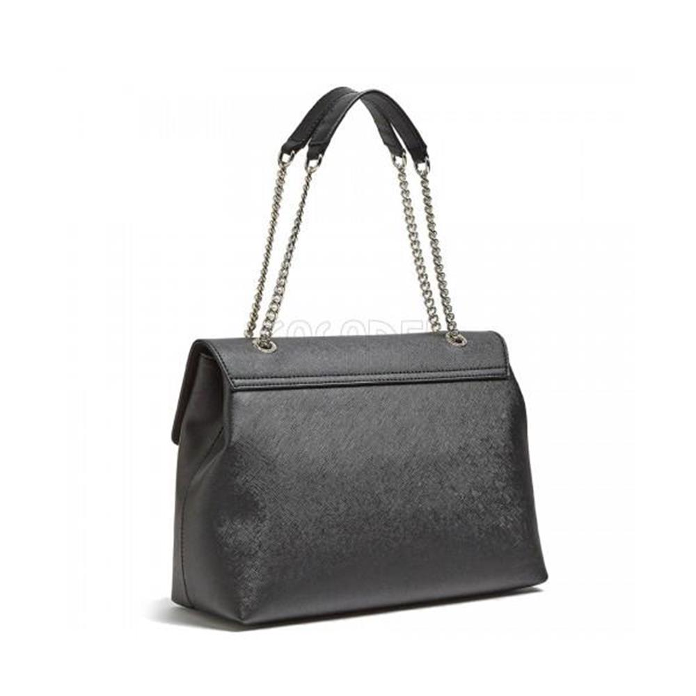 fe66bd11e9fe1 Shoulder Bag Guess Line Robyn EV718020 Black Woman Collection ...