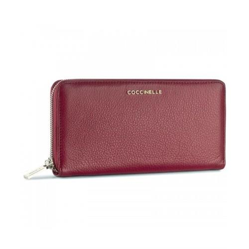 large-zip-around-wallet-coccinelle-e2cw5110401r04-calf-leather-bordeaux
