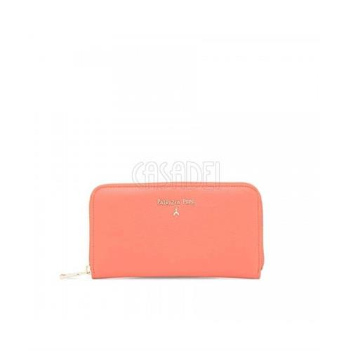 wallet-leather-purse-zip-around-patrizia-pepe-2v4879-galaxy-rose