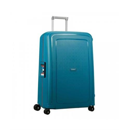 samsonite-rigid-suitcase-s-cure-4-wheels-spinner-75-l-petrol-blue-stripes