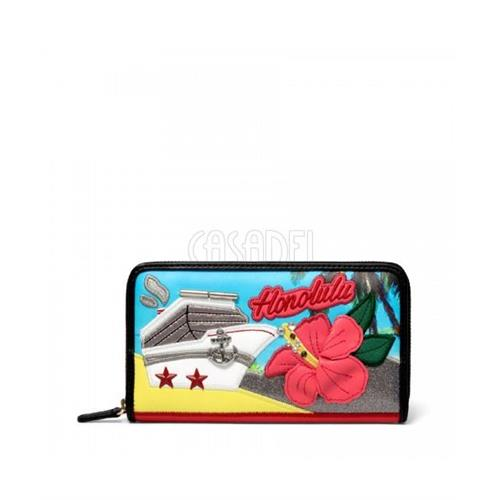 wallet-tua-braccialini-zip-around-cartoline-b12906-honolulu